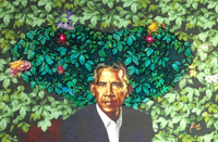 Barack Obama's Presidential Portrait: Serpent From The Garden